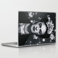 mexican Laptop & iPad Skins featuring MEXICAN PRINCESS by Paparrazzi666