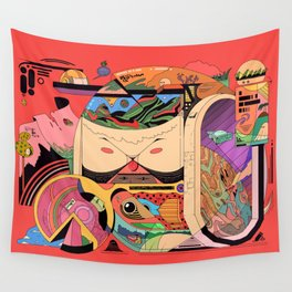 Doggysphere Wall Tapestry