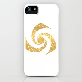GOLDEN MEAN SACRED GEOMETRIC CIRCLE iPhone Case