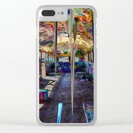 Bustalactites Clear iPhone Case