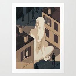 Absence 2nd Art Print