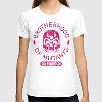 xmen T-shirts featuring Bad Boy Club: Brotherhood of Mutants  by Josh Ln