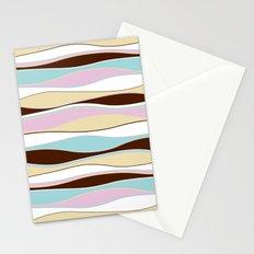 seamless pattern retro Stationery Cards