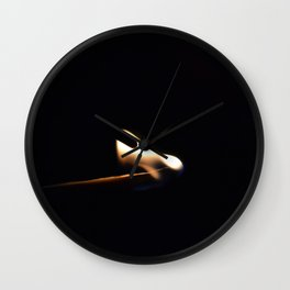 lit match Wall Clock
