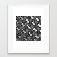 scales Framed Art Prints featuring  Scales. by Assiyam