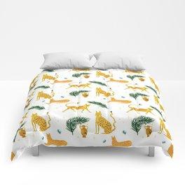 Big Cat Party Comforters