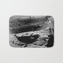 Apollo 16 - Moon Astronaut Crater Bath Mat