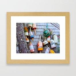 Buoys Buoys ACK Framed Art Print