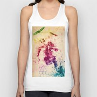 assassins creed Tank Tops featuring Assassins Creed III by Robert William Smith