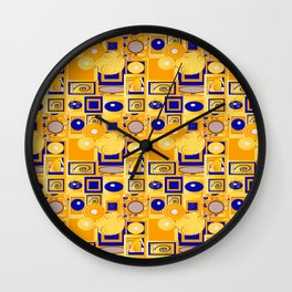 Klimt5 Wall Clock