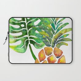 Monstera Pineapple Laptop Sleeve