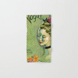 19315 Vintage Art Deco Flapper Jazz Age Young Woman Magazine Cover by Eduardo Garcia Benito Hand & Bath Towel