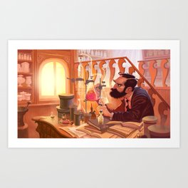 The Chemist Art Print