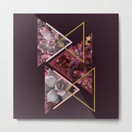 Wine Succulents #society6 #decor #buyart Metal Print