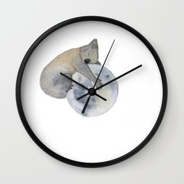 Sleeping Koala Wall Clock