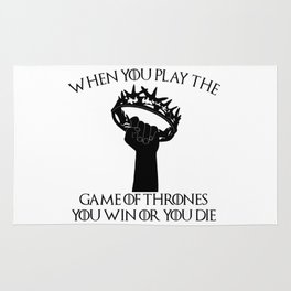 You Win or You Die Rug