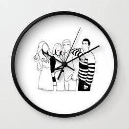 schitts creek Wall Clock