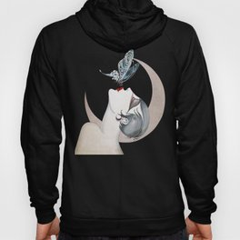 Art Deco Woman Hoody