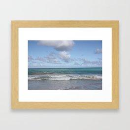 Beach in Hawaii 2 Framed Art Print