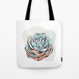 Succulent flower 1 Tote Bag