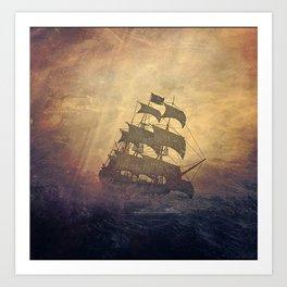 Black Sails #2 Art Print