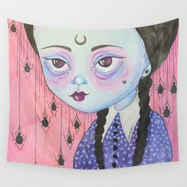 Wednesday's child is full of woe Wall Tapestry
