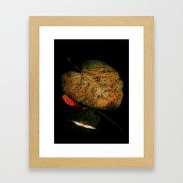"""Gentle Death"" Framed Art Print"
