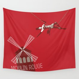 Moulin Wall Tapestry