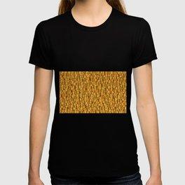 Random Gold Mosaic Background T-shirt