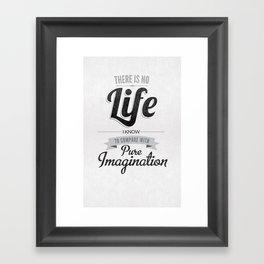Pure Imagination Framed Art Print