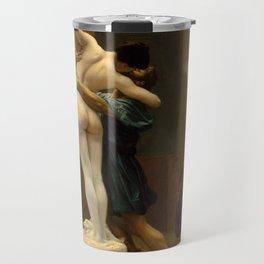 Pygmalion and Galatea by Jean-Leon Gerome Travel Mug