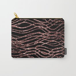 sparkling rose waves Carry-All Pouch