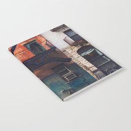 Vintage Downtown Street (Color) Notebook
