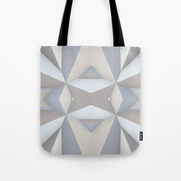 Origami - White Tote Bag
