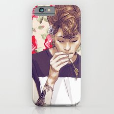 Roses, Violets and Fucks iPhone 6 Slim Case