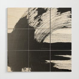 Black and White Gallery Wall Art Wood Wall Art