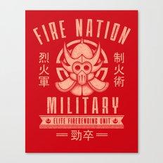Fire is Fierce Canvas Print