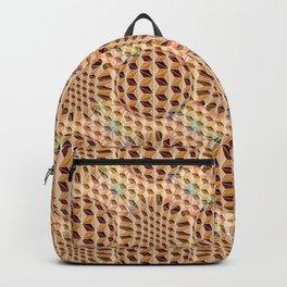 Geodesic Asanoha (Wooden) Backpack
