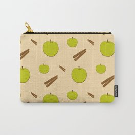 Sweet pattern with apple and cinnamon Carry-All Pouch