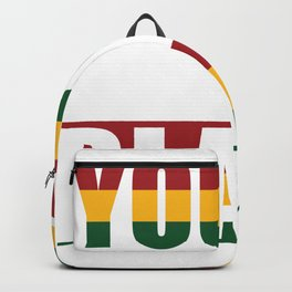 Young gifted and black - Africans Backpack