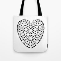 insects Tote Bags featuring Insects by lllg