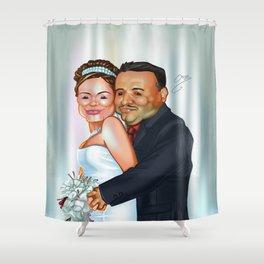 Pau & Javis Shower Curtain