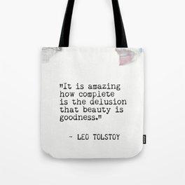 Leo Tolstoy quote 6 Tote Bag