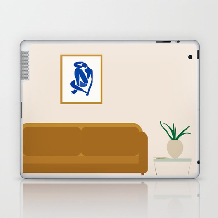 Interior with Matisse Laptop & iPad Skin