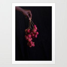 Lychee Art Print