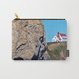 Cliffside Coastal Home Carry-All Pouch