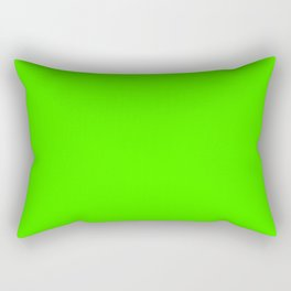 Chlorophyll Green - solid color Rectangular Pillow