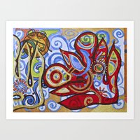 Breadfruit Art Print