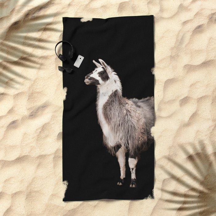 LAMA ( LLAMA) Beach Towel