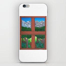 Window To The World iPhone Skin